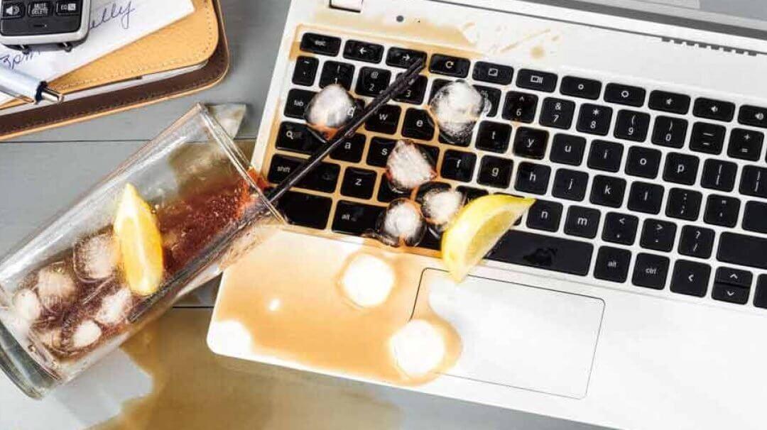 Drink Spilled on MacBook Repair