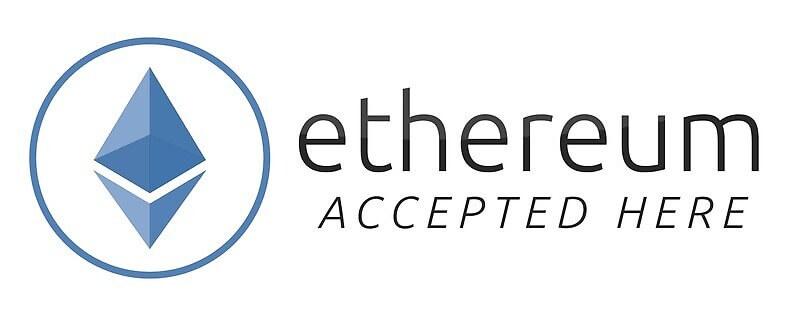 We accept Ethereum